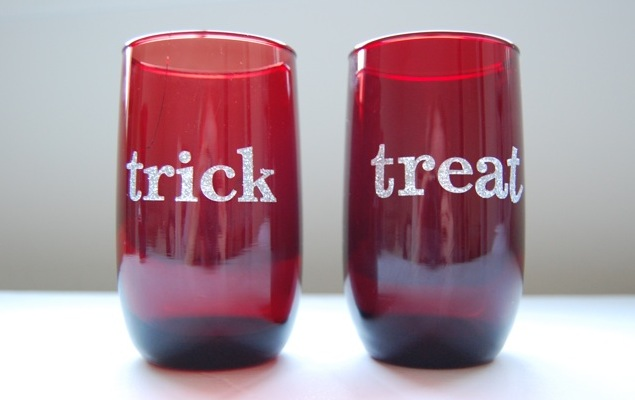 Trick or treat glasses