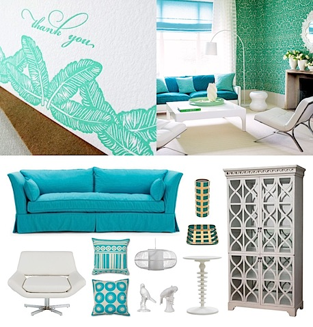 letters lubell stationery to room inspiration board turquoise white.jpg