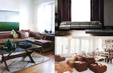 Captivating Long Low Lounge Sofa