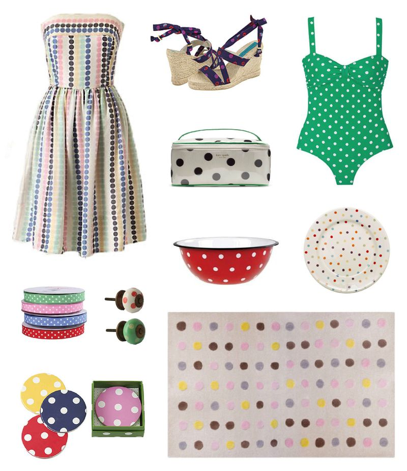 Spring 2010 inspiration boards fashion interior design polka dots 3 cath kidston kate spade