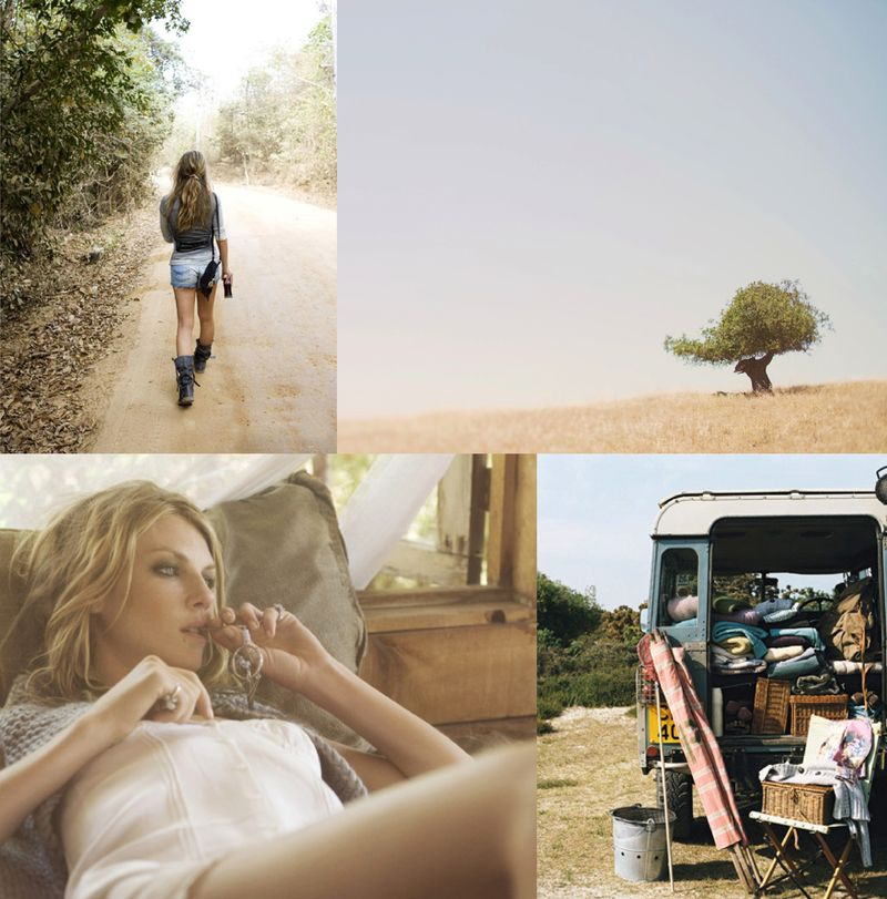 Country roads inspiration board 2