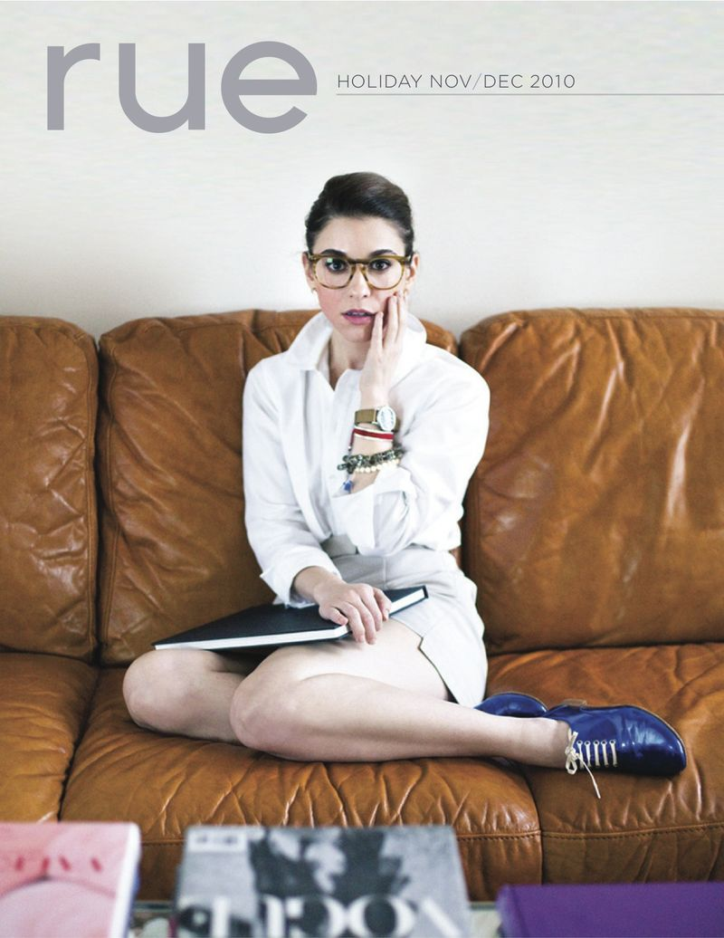 Rue magazine issue 2 cover