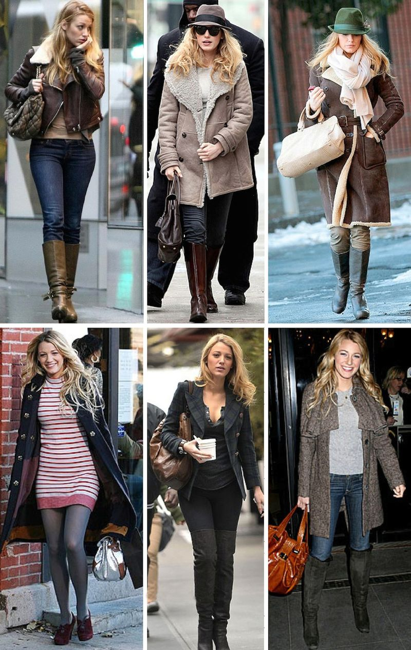 Blake lively fashion street style gossip girl