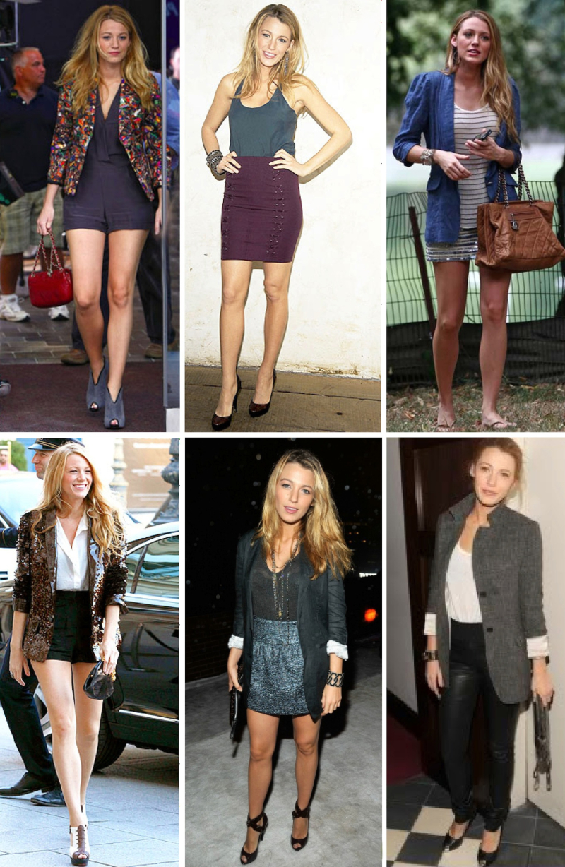 Blake lively fashion street style gossip girl 2