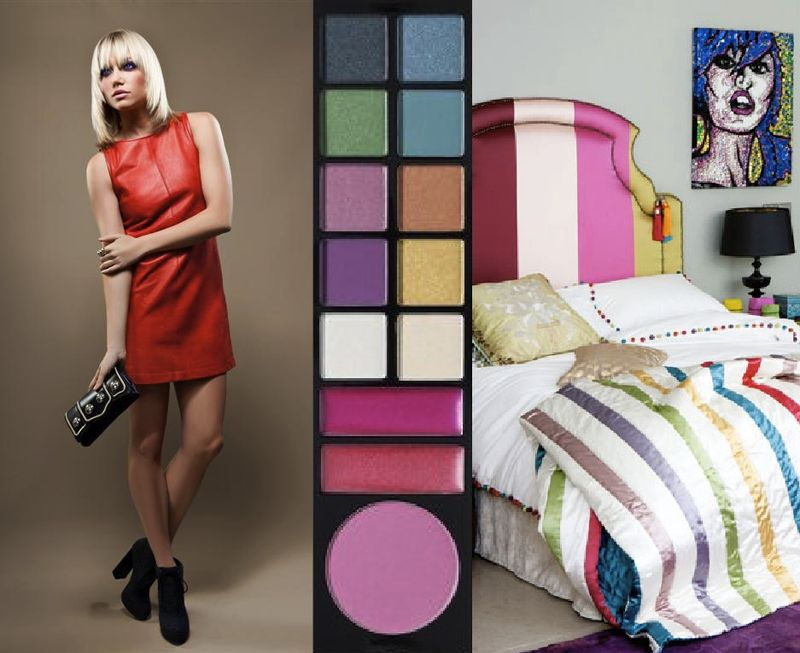 Shopbop sephora faces of fashion inspiration board interior design beauty magazine blog 5