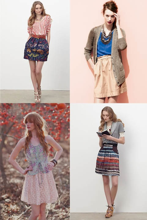 Springs skirts fashion trends 2011