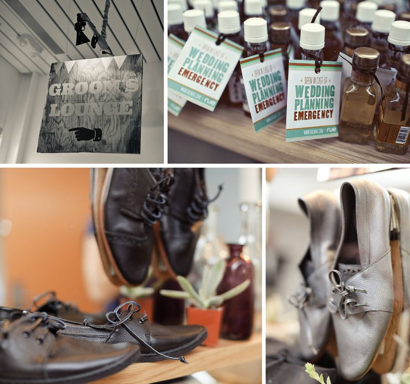Rue magazine hitched grooms lounge ace hotel palm springs wedding inspiration board