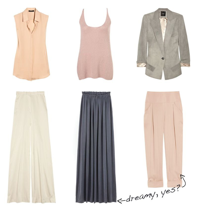 Lucky magazine neutrals june 2011 outfits inspiration fashion summer trends 2