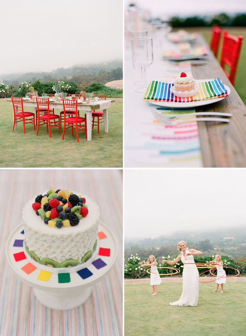 Kelly oshiro rainbow party wedding inspiration board 4