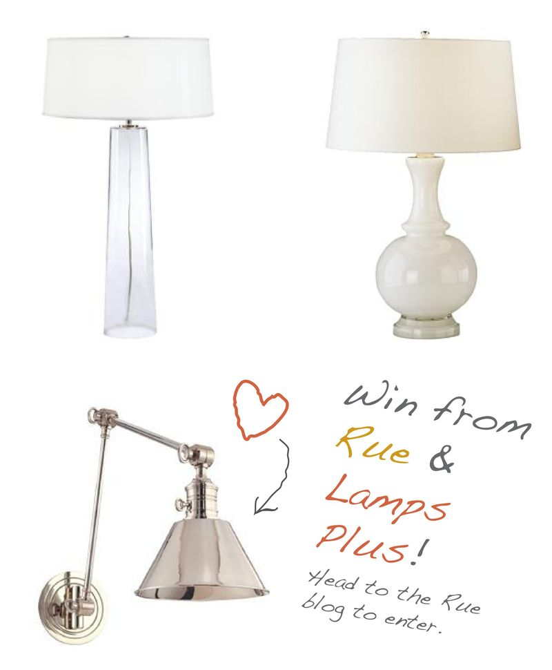 Rue lamps plus giveaway
