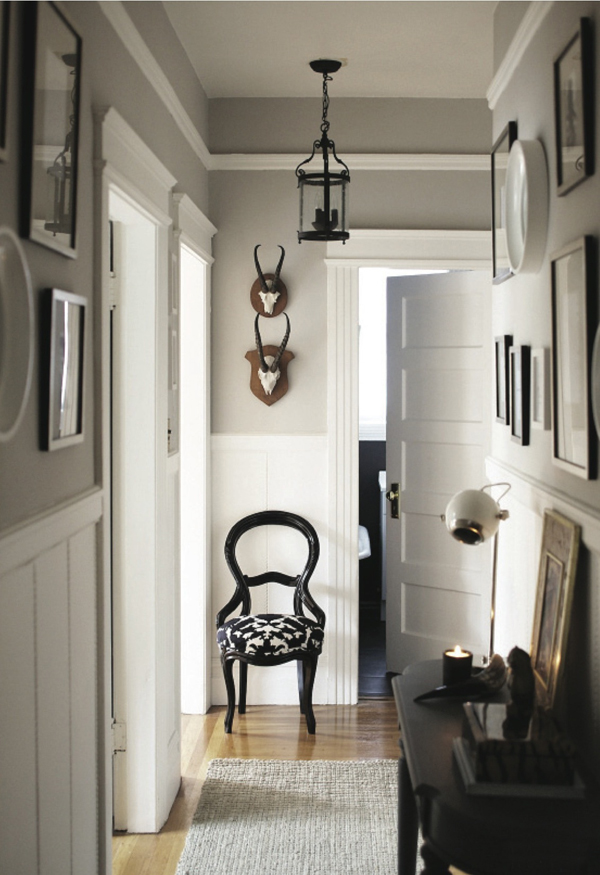 Rue magazine hallway interior design entry