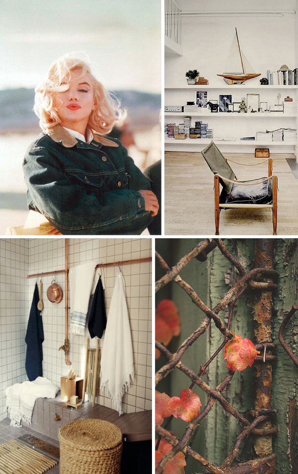 Marilyn-monroe-beach-inspiration-board-