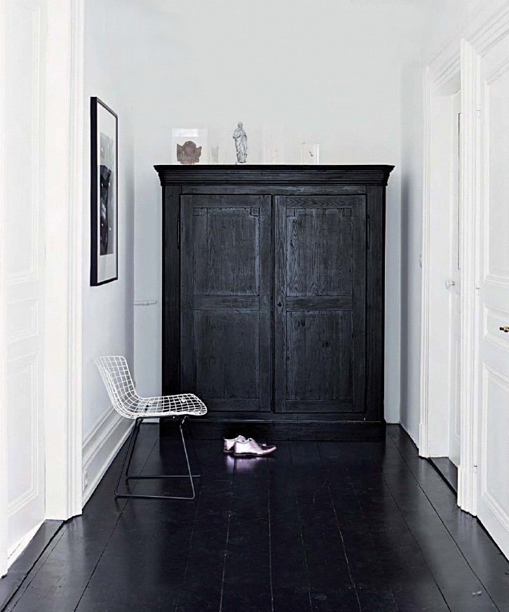 Marie claire maison bertoia chair black floors