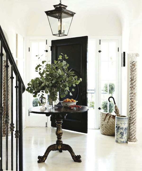 House beautiful interior design traditional entryway