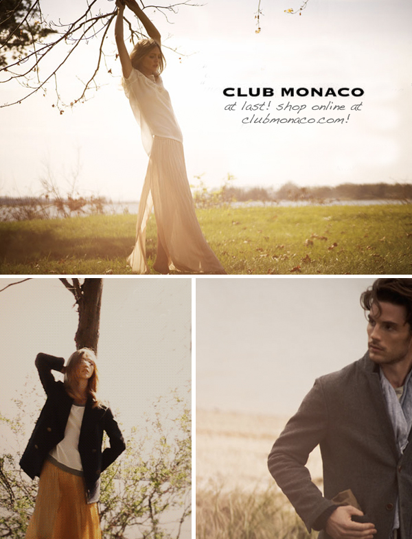 Club-monaco-online-shopping-announcement