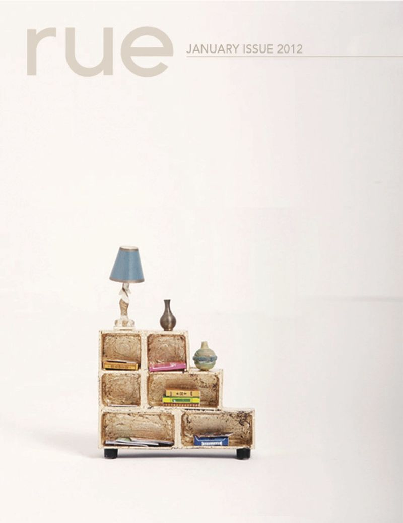 Rue cover january small spaces issue 9