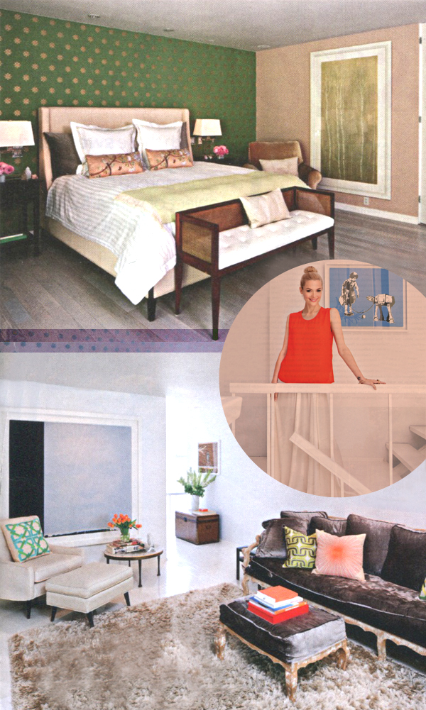 Home Lust: Jaime King In InStyle Magazine