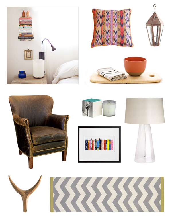 Bohemian-modern-interior-shopping-board-design