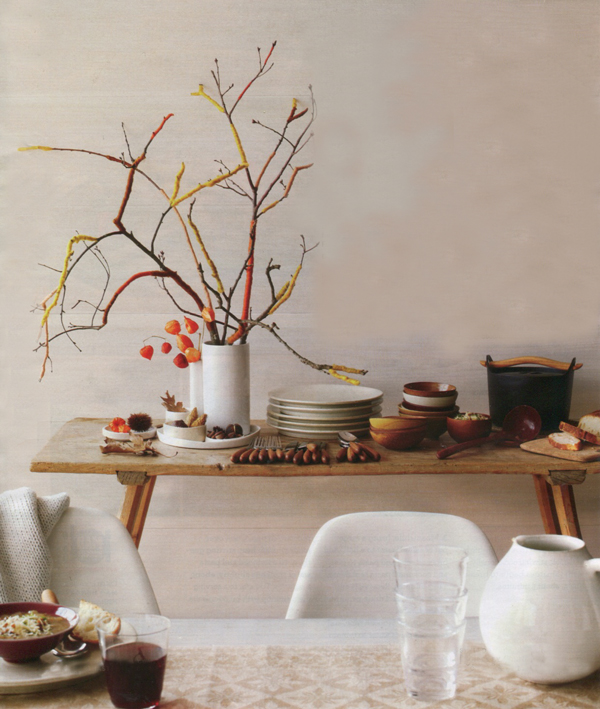 The City Sage: Fall Decorating Ideas: Martha Stewart Living October