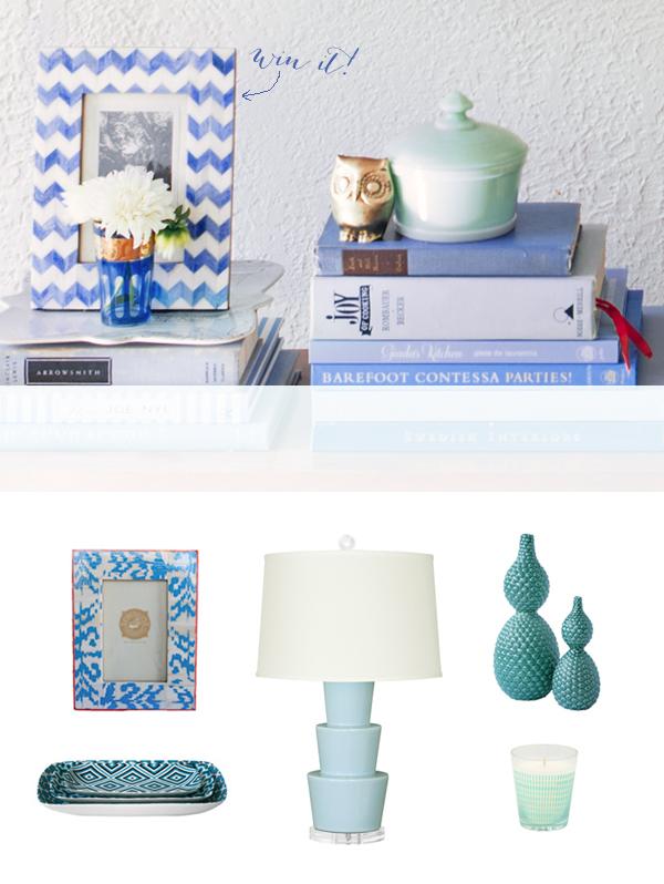 Blue-bookshelf