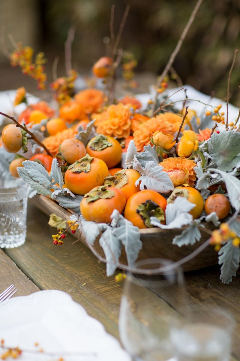 DIY thanksgiving centerpiece arrangement