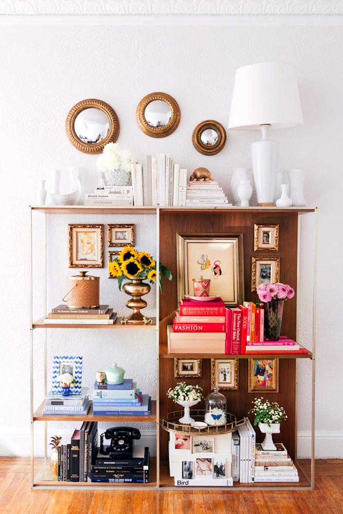 Colorblock Bookshelf Styling With Layla Grayce
