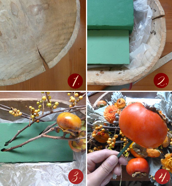 The City Sage: DIY Thanksgiving Centerpiece How-To from Kelly Oshiro