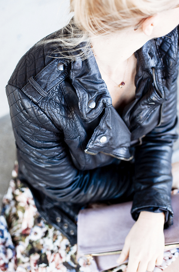 Perfect quilted leather biker jacket by muubaa