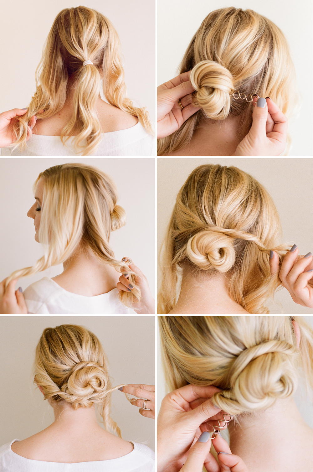 Hair tutorial easy pretty updo simple pretty updo tutorial baditri Image collections