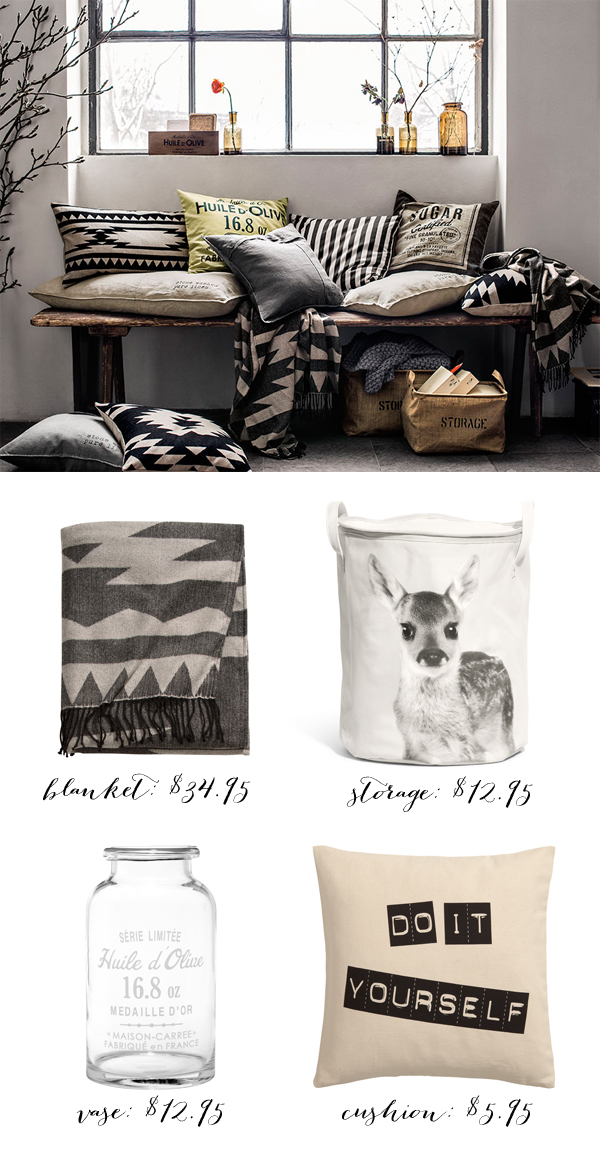 H&M home for fall