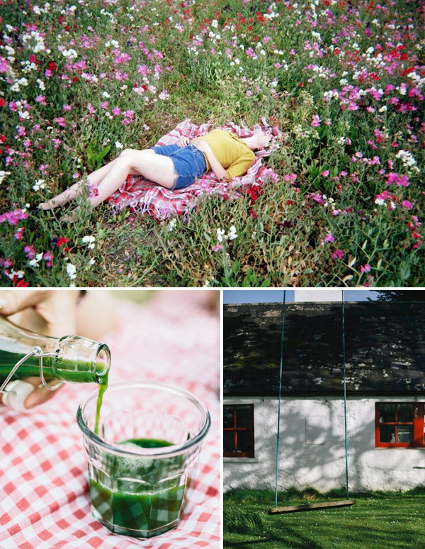 Get the Look: Late Summer Picnic Cocktails - Anne Sage