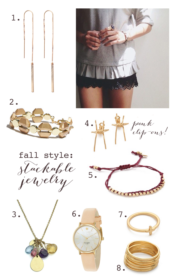 Fall jewelry must-haves
