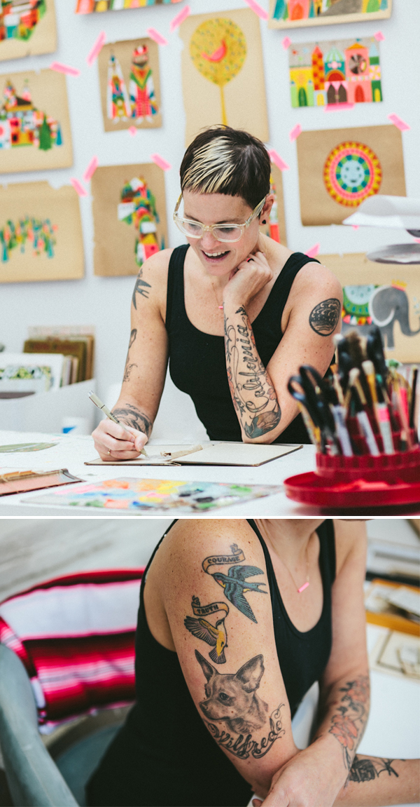 Lisa congdon calligraphy tattoos