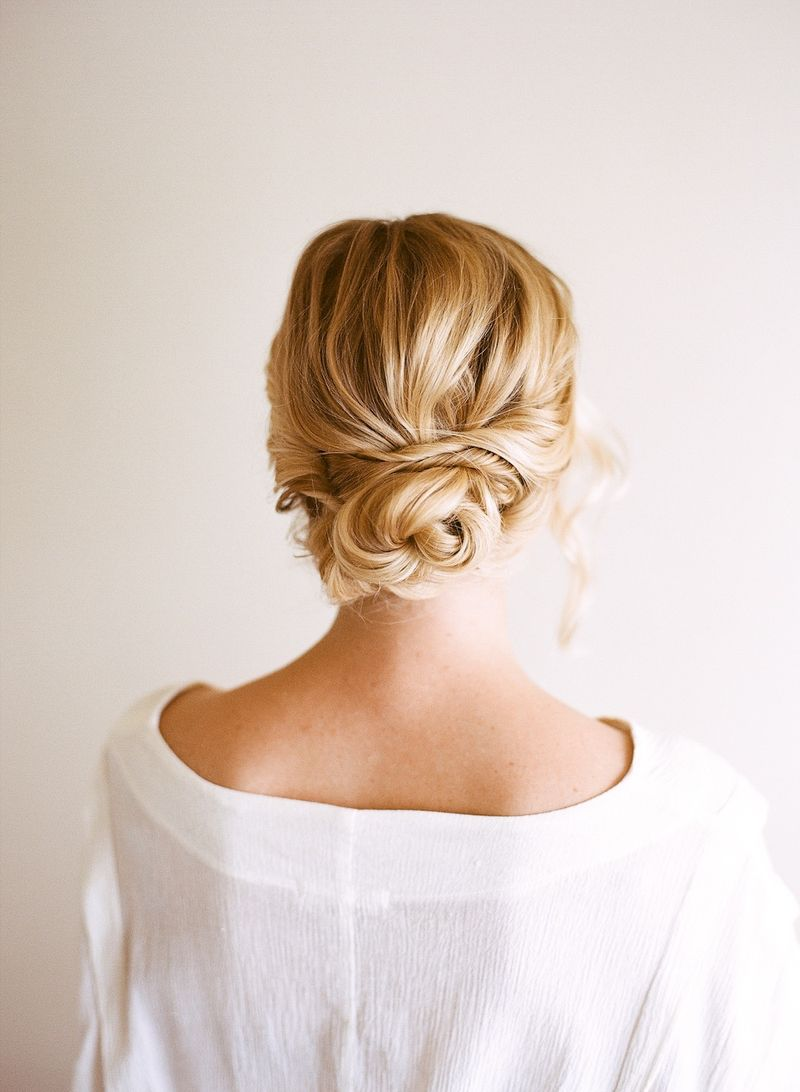 Cool Easy Updo Hairstyles For Thin Hair Haircuts Hairstyles For Women Draintrainus
