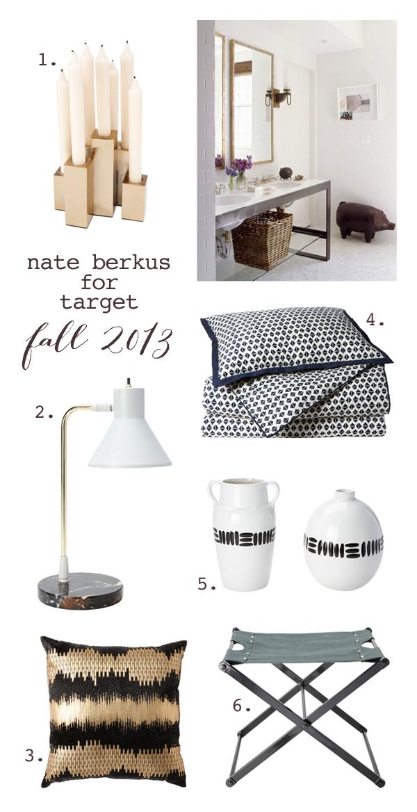 Nate berkus for target fall 2013