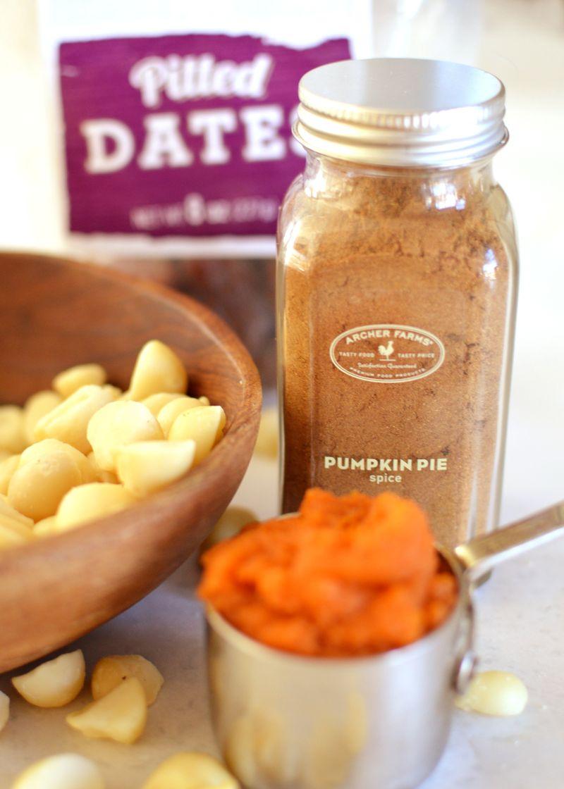 Pumpkin macadamia nut butter