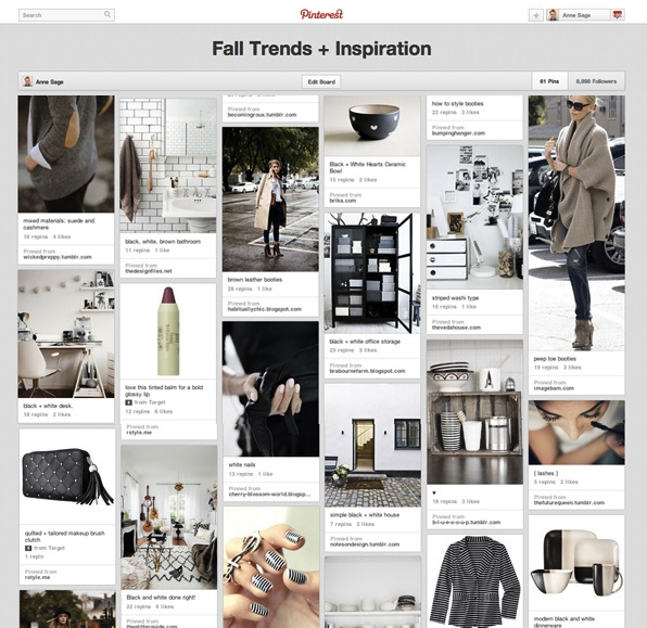 Fall trends and inspiration