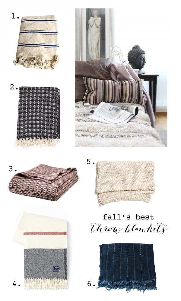 Cozy throws for fall
