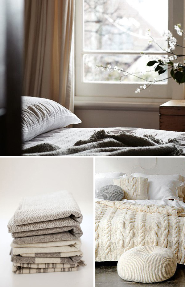 Cozy fall throws