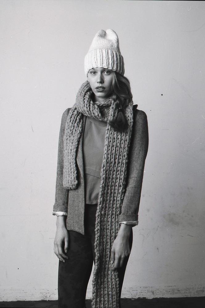 Oversized knits
