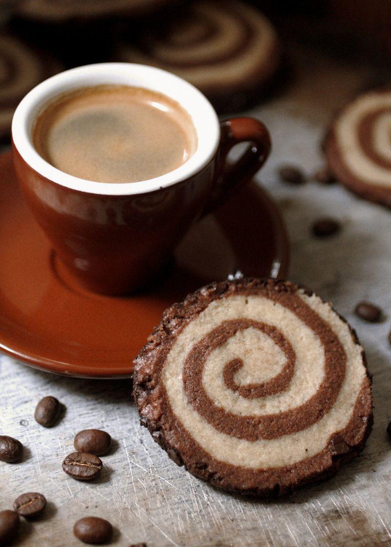 Recipe: Mocha Swirl Slice and Bake Cookies - Anne Sage