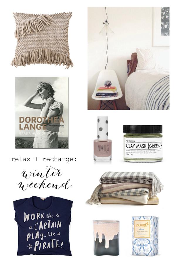 Cozy weekend essentials
