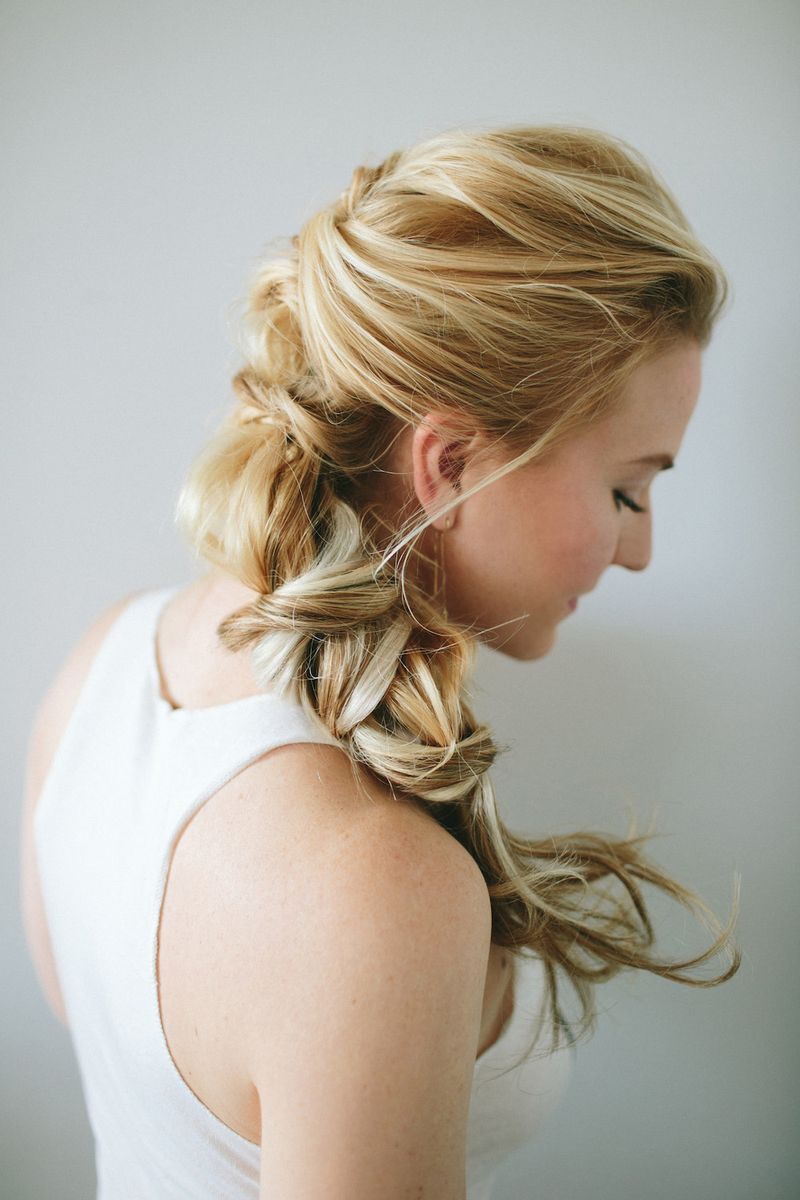 Romantic twist braid tutorial