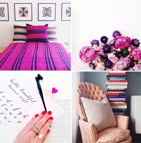 Pink + violet love
