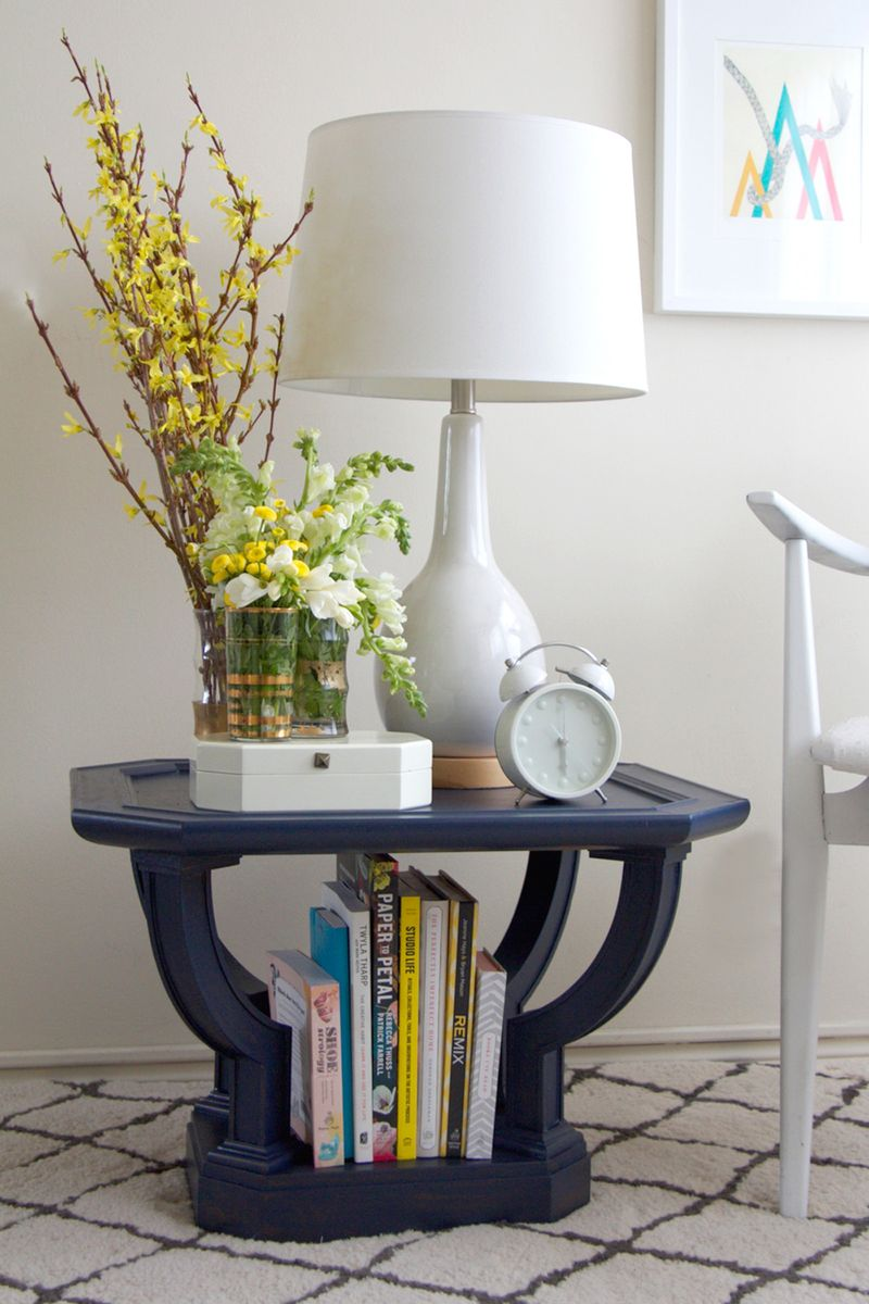 Indigo table DIY