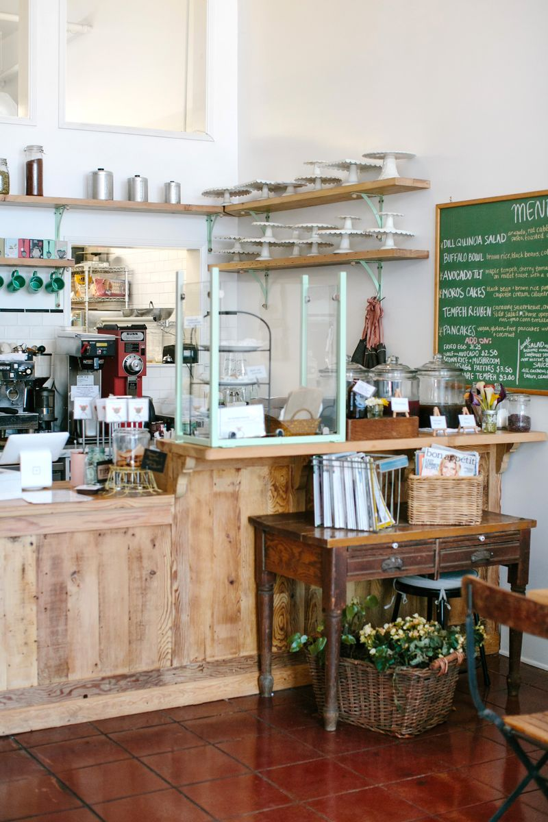 A charming bakery + cafe