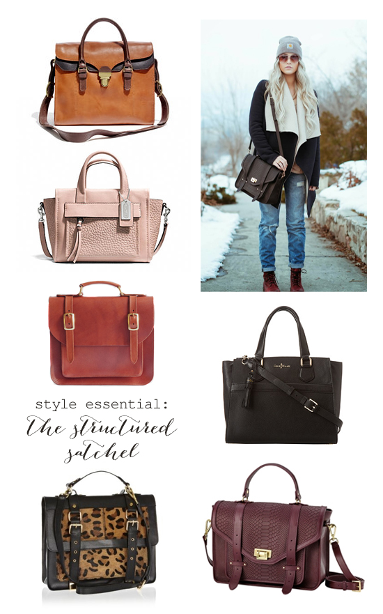 The essential satchel