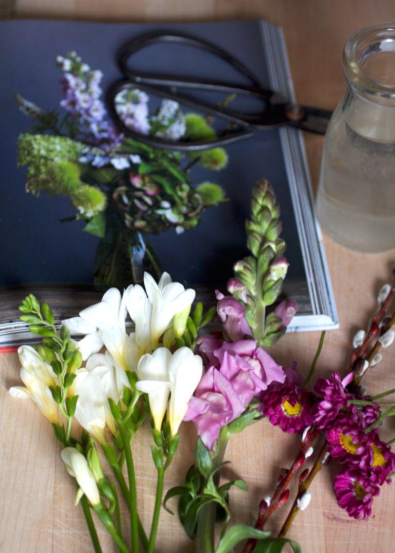 DIY valentine's flowers