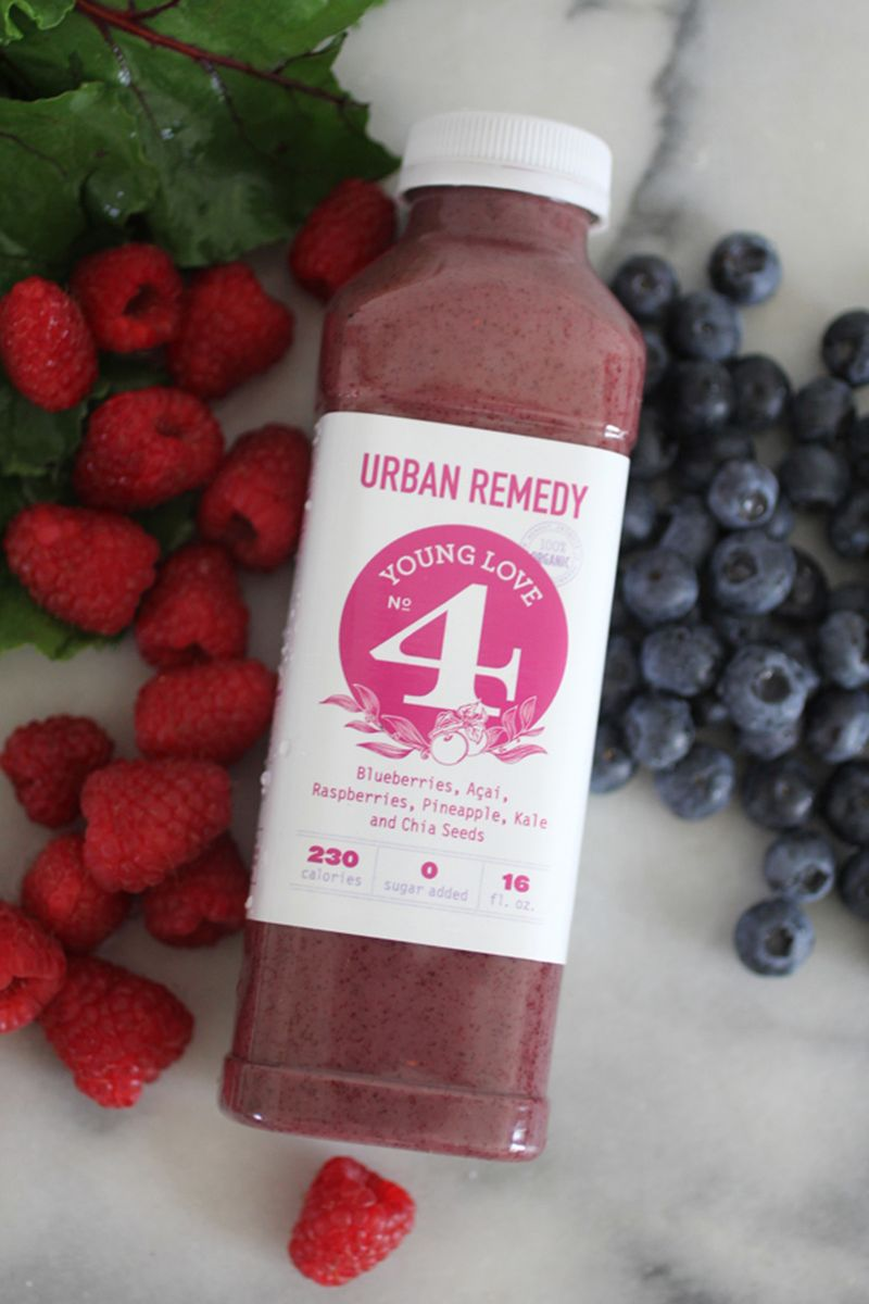 Antioxidant juice cleanse