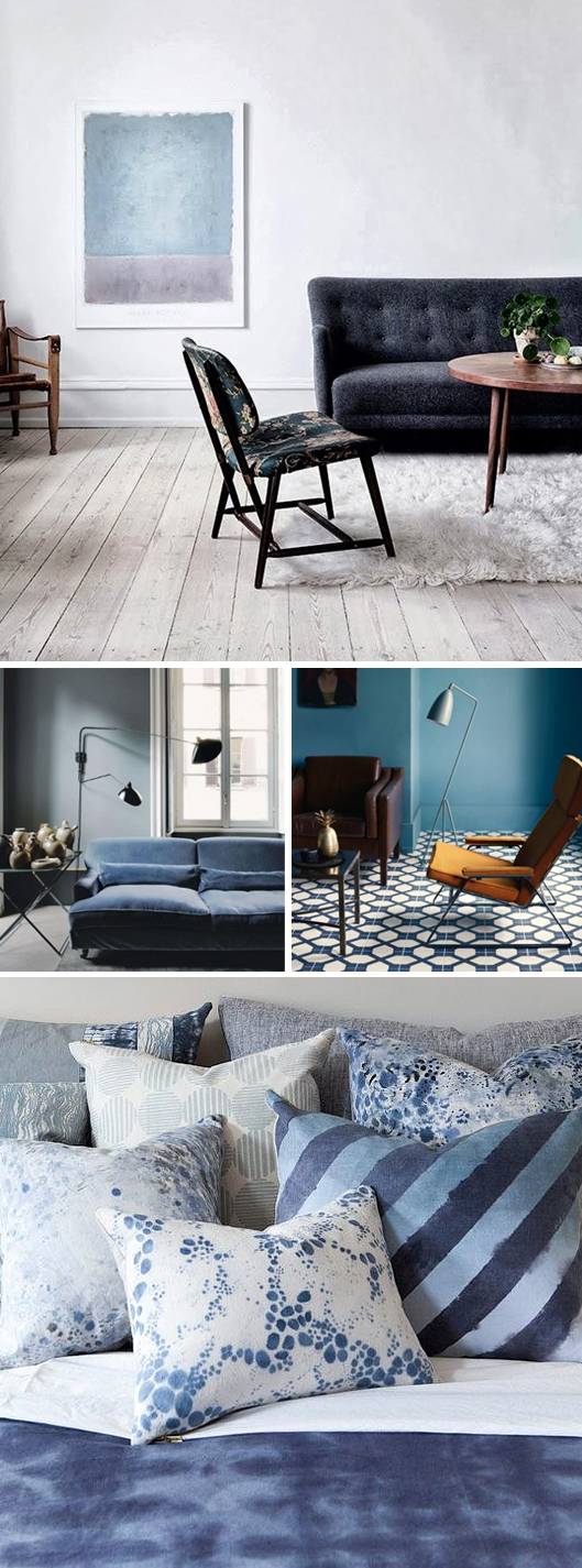Blue interiors inspiration